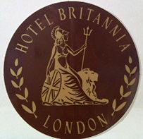 Britannia InterContinental London Hotel Branding Logo 1982