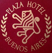 Plaza InterContinental Hotel Branding Logo 1981