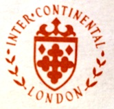 InterContinental London Hotel Branding Logo 1975
