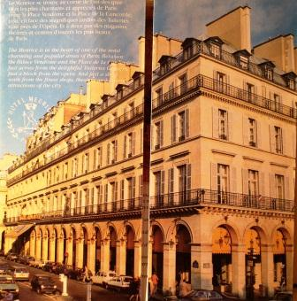 Meurice Inter-Continental Hotel, Paris, France, Neal Prince International Hotel Interior Designer