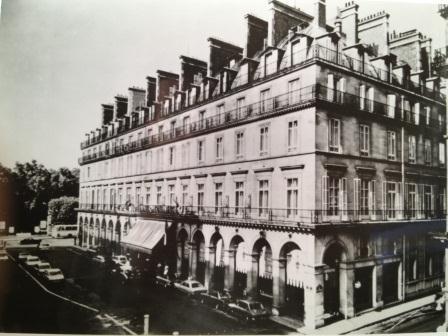 Inter continental paris hotel paris france mr neal prince international - Hotel continent paris ...