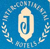 InterContinental Jordon Hotel Branding Logo 1964