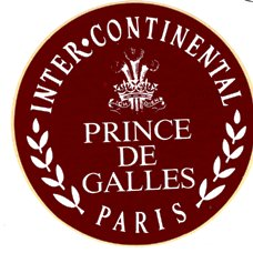 Prince des Galles Hotel, Paris, France, Neal Prince International Hotel Interior Designer