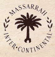 Massarah InterContinental Hotel Branding Logo 1977